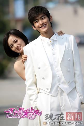 """张翰与江铠同的""""结婚照"""""""