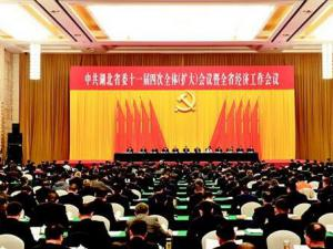 湖北省委十一届四次全体(扩大)会议暨全省经济工作会议召开
