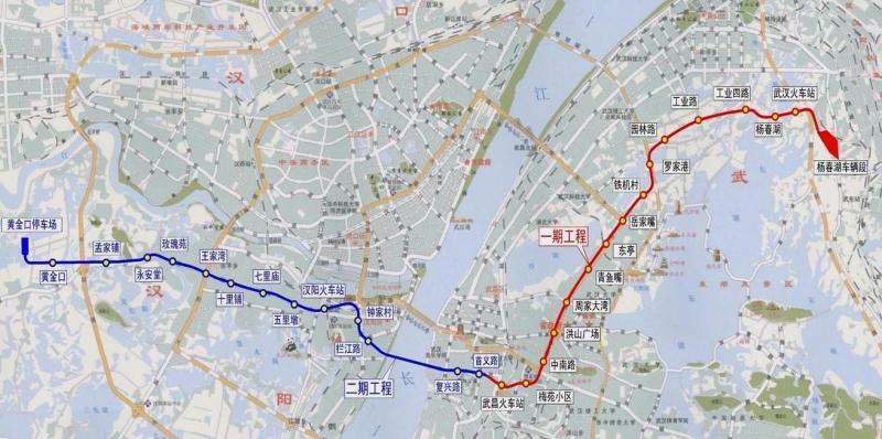 武汉地铁11号线 武汉地铁11号线最新图片 乐悠游网 ...
