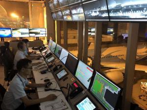 天河机场全面接管航空器机坪管制