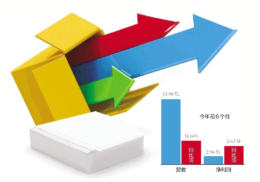 岳阳林纸逾9亿构筑双主业格局 造纸园林澳门永利集团润双双翻倍增长