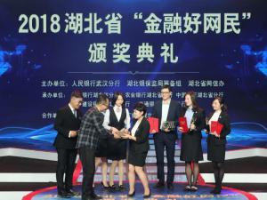 """2018湖北省""""金融好网民""""颁奖仪式在武汉举行"""