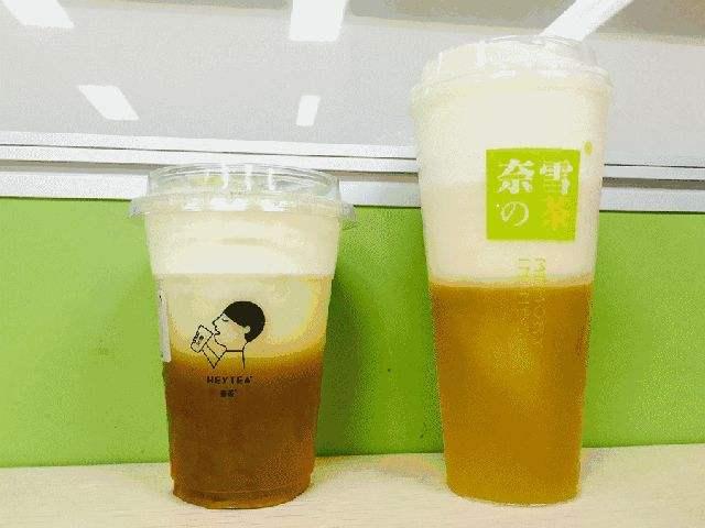 奈雪的茶与喜茶互怼抄袭 新式茶饮被指同质化严重