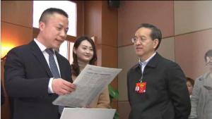 蒋超良勉励两会报道媒体记者 为高质量发展营造良好舆论环境