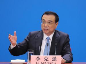 李克强总理会见采访两会的中外记者并回答提问 中国改革开放的门会越开越大
