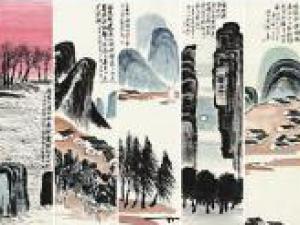 齐白石这组作品拍出9.315亿天价 买家为中国藏家