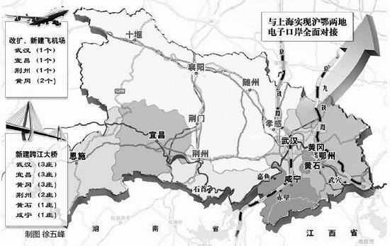 鄂州燕矶机场规划图