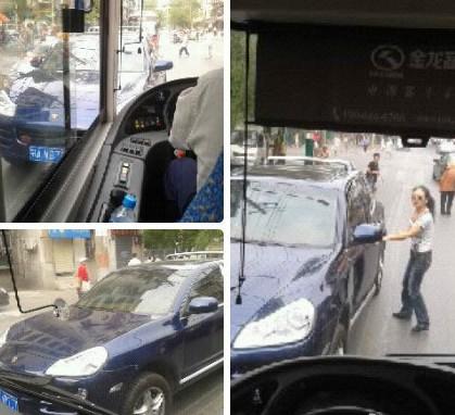 qq 黄州/堵车现场。图片来自网络