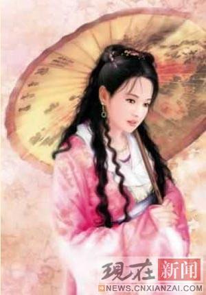 国色天香!中国古代20大脚心-美女大全-长江美女故事图片挠图片