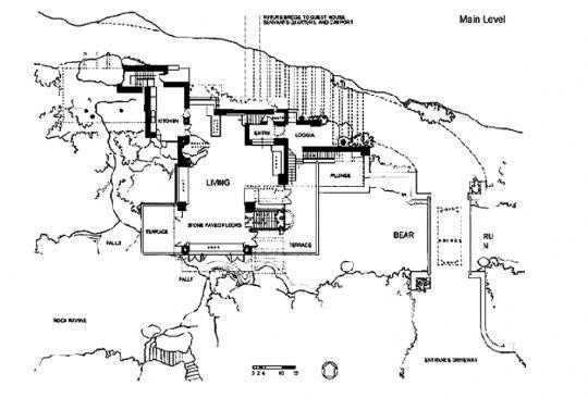 流水别墅平面设计图