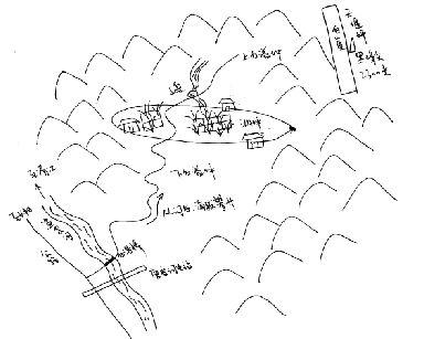 白溢坪手绘图