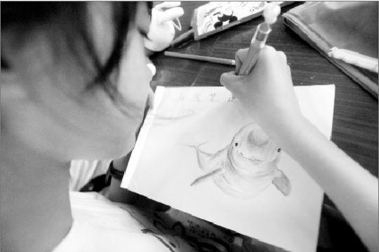 手绘笔画小萌物