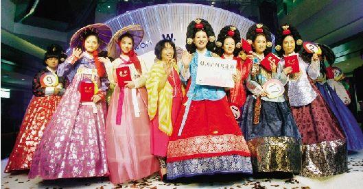 长江商报 > 韩流来袭  活动现场,当优雅的音乐响起,20位身着传统韩国