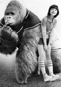 围观萝莉与大猩猩