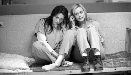 《女子监狱》在美国知名在线影片租赁提供商netflix