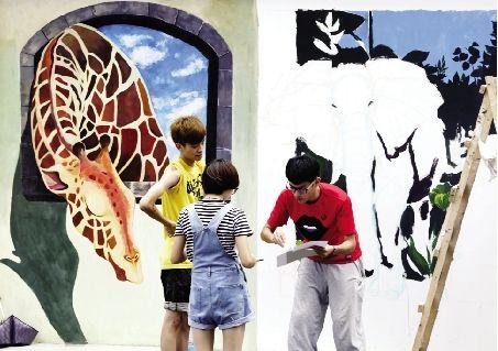 墙上动物园 - 社会 - 长江商报官方网站
