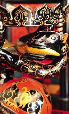 寻访楚式漆器的形与色(下) - 石晓轩 - 爱之泉的博客