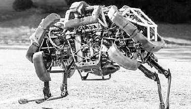四肢机械动物设计图