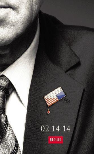 《纸牌屋2》海报.图片来源于网络