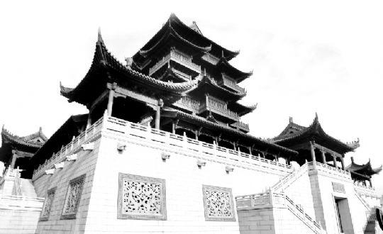复杂的中国木结构