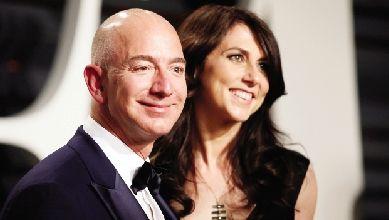 贝佐斯360亿美元天价离婚案敲定 保住亚马逊控股权仍为世界首富